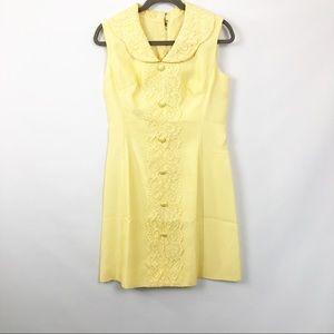 Vintage Handmade Aline Sleeveless Dress 70s